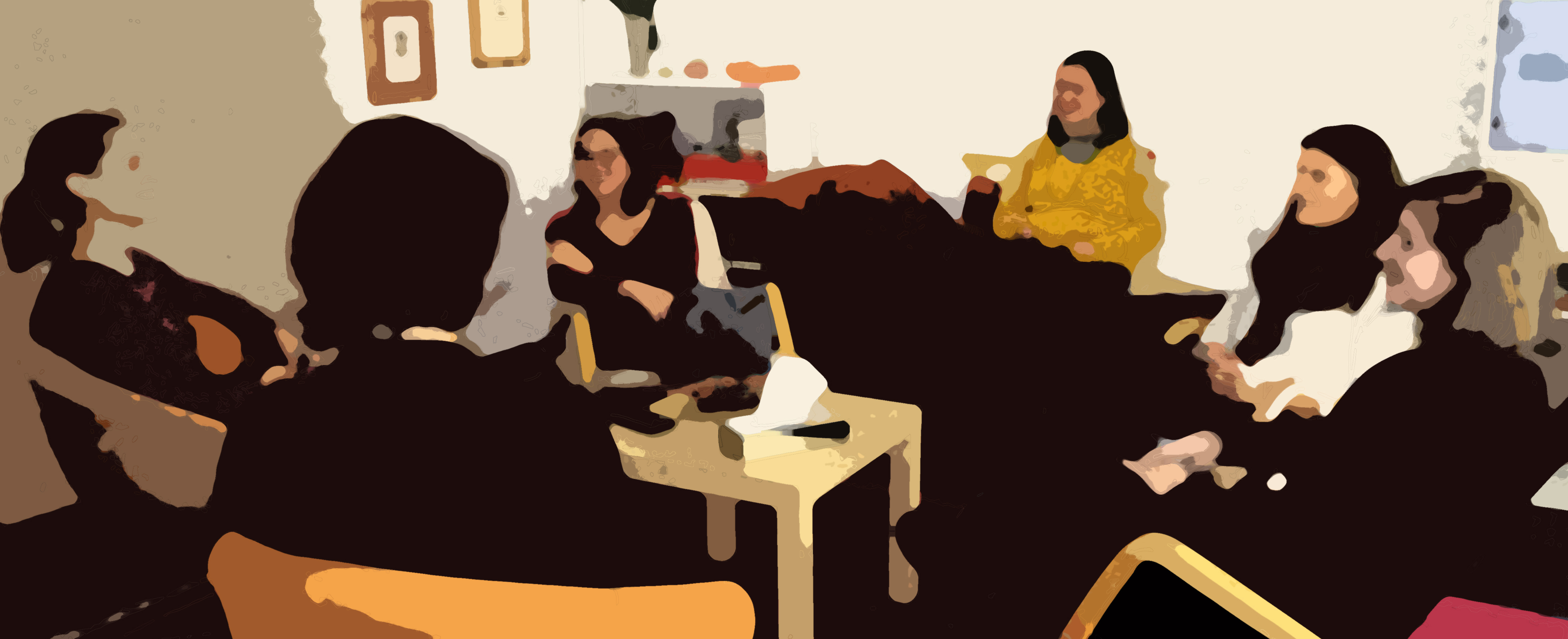 Grupo de Supervisión con Eva Inés y Marisol Vázquez