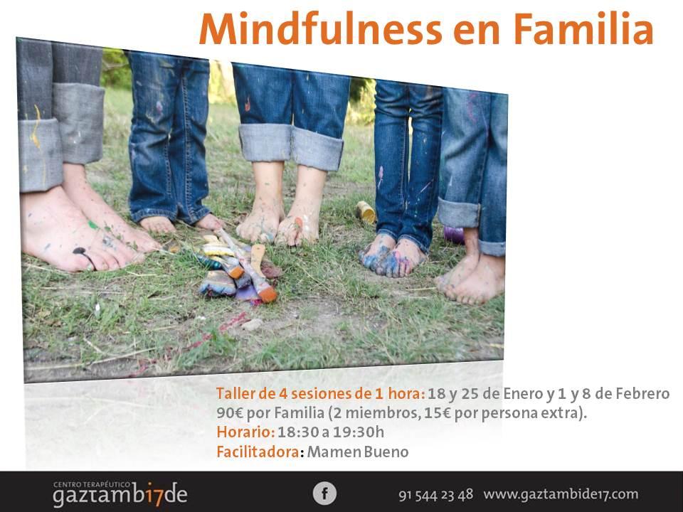 Taller de Mindfulness en Familia.