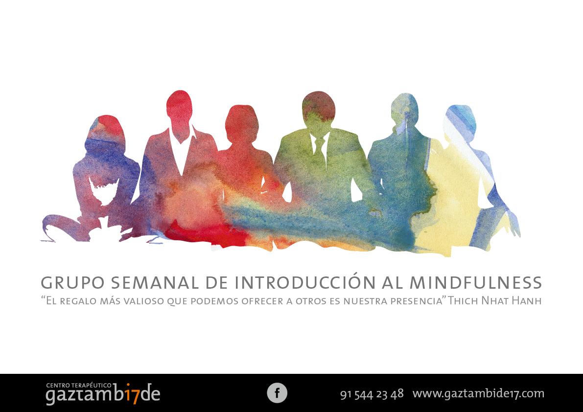 Nuevo Grupo 8 semanas de Introducción al Mindfulness