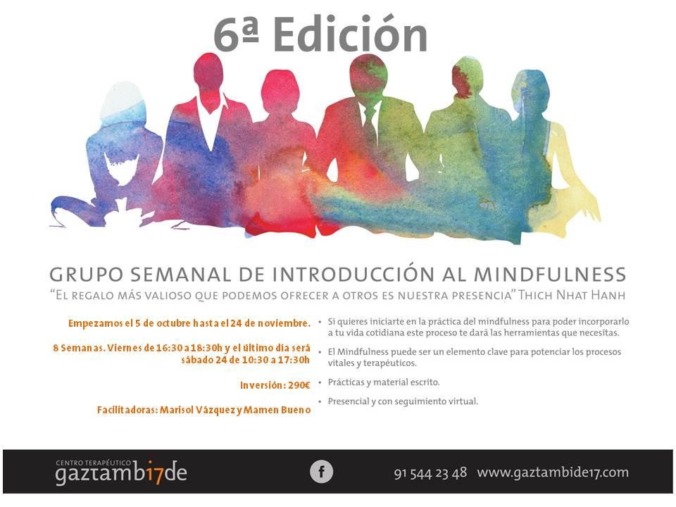 Grupo Semanal de Introducción al Mindfulness